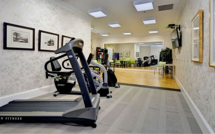 The gym room of the Retirement Community Verena at the Reserve