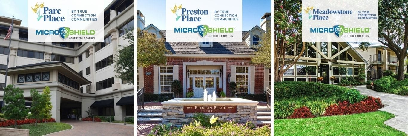 Parc Place, Preston Place, Meadowstone Place treated with MicroShield 360 antimicrobial coating