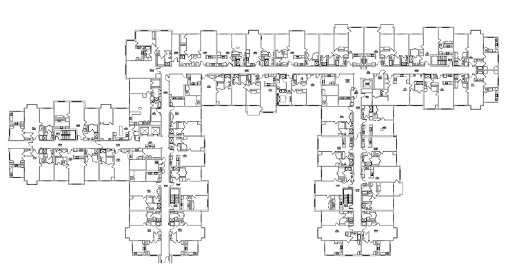 second floor plan at verena at hilliard independent living community in hilliard, ohio