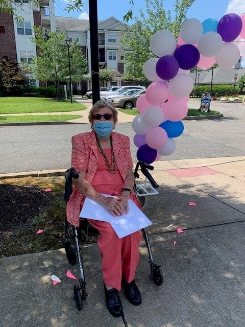 Verena at the Glen resident turns 100 years old